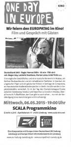 Einladung Scala Europafilm 6.5.2015